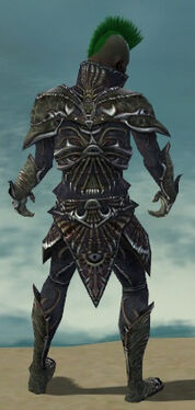 Necromancer Elite Necrotic Armor M gray back