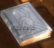 Duality of Lyssa
