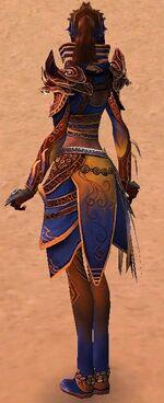 Xandra Armor Deldrimor Back