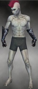 Grim Gloves M gray front