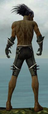 Necromancer Kurzick Armor M gray arms legs back