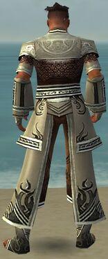 Monk Deldrimor Armor M gray back