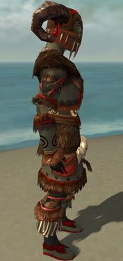 Ritualist Norn Armor M gray side