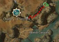Lieutenant Vanahk Map