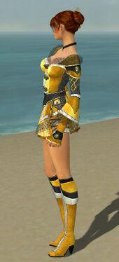 Elementalist Kurzick Armor F dyed side