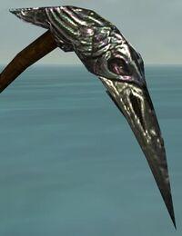Raven Scythe head