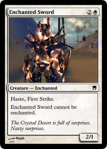 File:MTG Enchanted Sword.jpg
