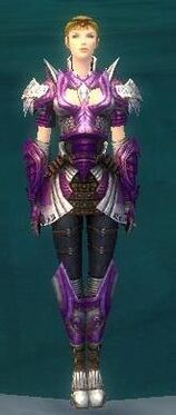 Warrior Deldrimor Armor F dyed front