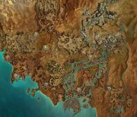 Kourna map