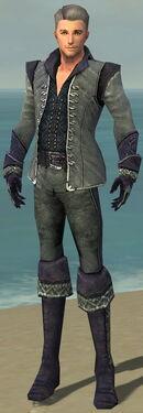 Mesmer Elite Elegant Armor M dyed front