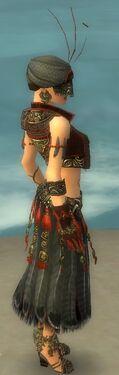 Ritualist Asuran Armor F gray side