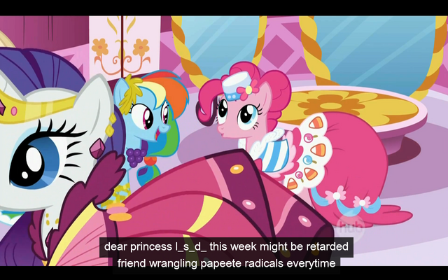 File:The princess is now a drug and the week may be retarded.png