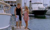 Will and Bella on Jetty