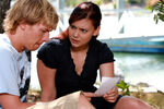 Lewis And Charlotte Reading a Letter
