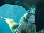 Rikki in Underwater Cave
