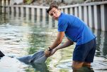 Chris and Dolphin