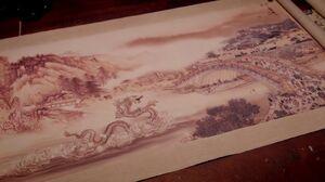 Water Dragon Scroll