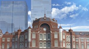 Tokyo Station (front) anime