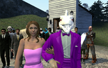 Dino and Rapunzel get married in Gmod