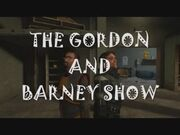 The Gordon and Barney Show Title Screen