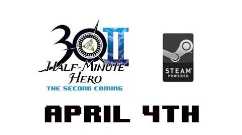 Half Minute Hero The Second Coming on Steam April 4th