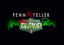Penn and Teller New(kd) Las Vegas 3-D