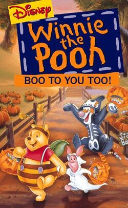 Boo! To You Too! Winnie the Pooh