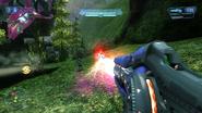 Focus Rifle firing