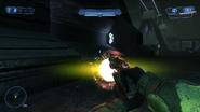 Brute plasma pistol charging