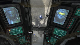Halo 3 ODST Drop Pod Interior by counterfox