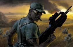 SSgt Avery Johnson, UNSC Marine Corps