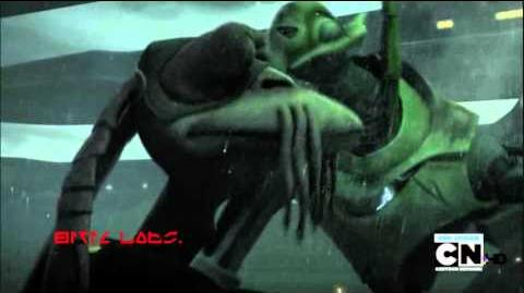 "Clone Wars ""Shadow Warrior"" Grievous vs. Gungans rescored"