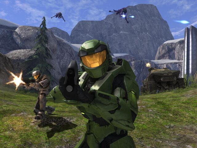 File:Halo Combat Evolved In Halo 3.jpg
