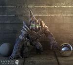 Halo Wars Grunt