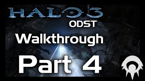Halo 3 ODST Walkthrough - Part 4 - ONI Alpha Site - No Commentary