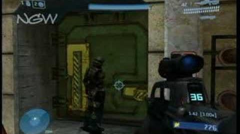 Easter Eggs - Halo 3 - Red vs Blue Easter Egg