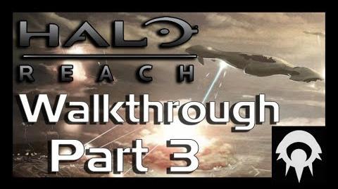 Halo- Reach Walkthrough - Part 3 - ONI- Sword Base - No Commentary