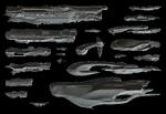 SpartanGames Render-Model-Comparison UNSC-Covenant