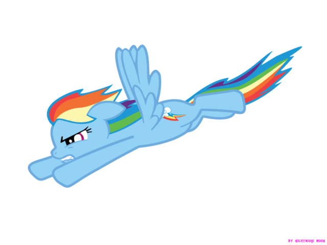 File:Rainbow Dash Flying.png