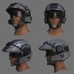 H4 marine helmet