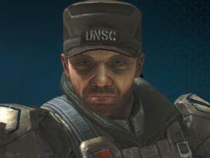 L'immagine di Stacker nella sparatoria di Halo: Reach