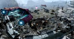 Siege of Alpha Base