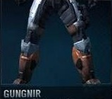 GUNGNIR shoulders