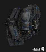 H2A CinematicRender MarathonHeavyCruiser-Front-Close