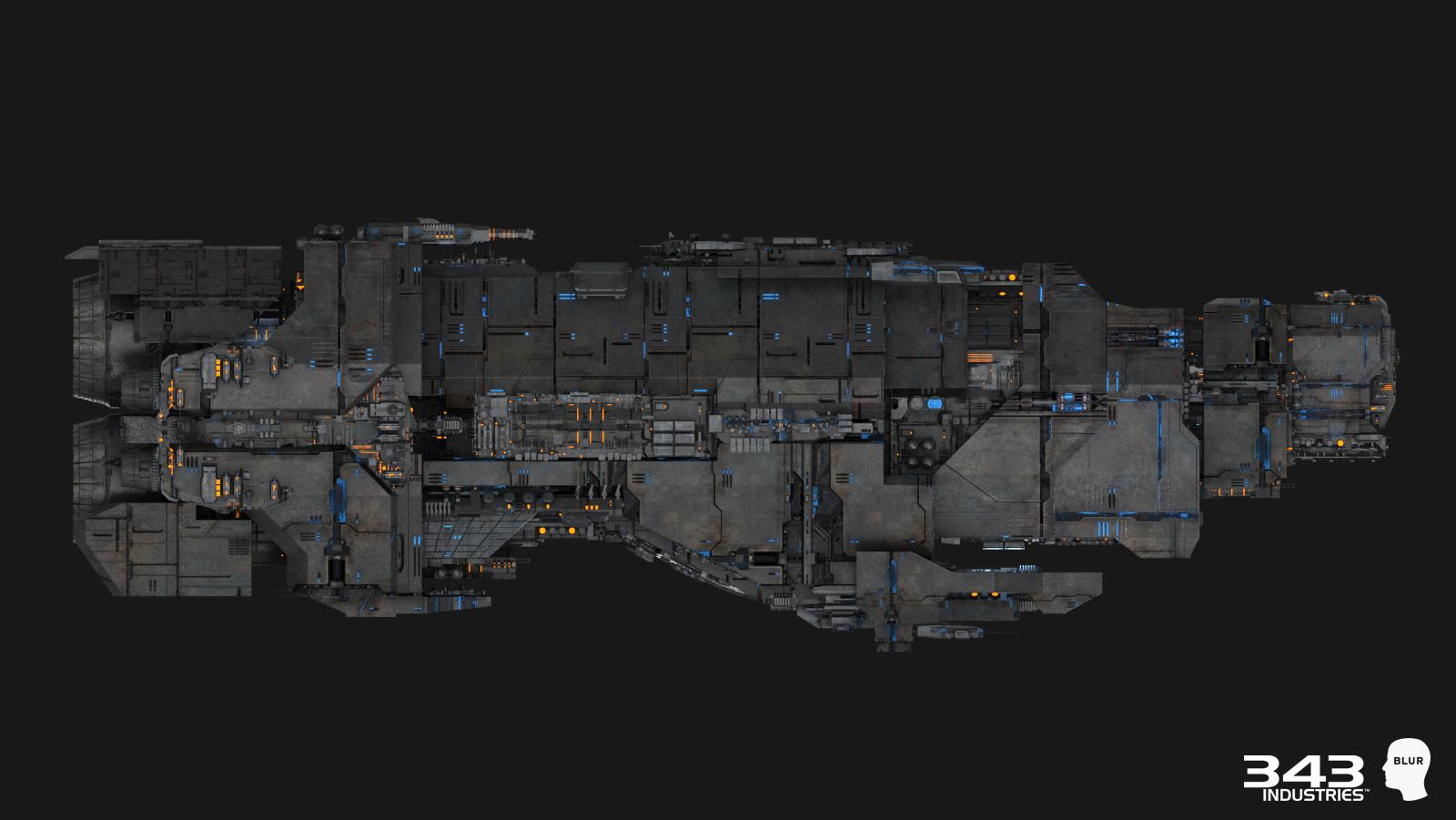 Fichier:H2A CinematicRender MarathonHeavyCruiser-Side.jpg