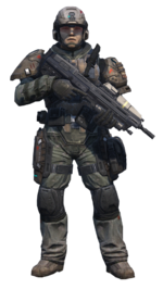 Halo Reach - UNSC Army Infantryman (Standing).png