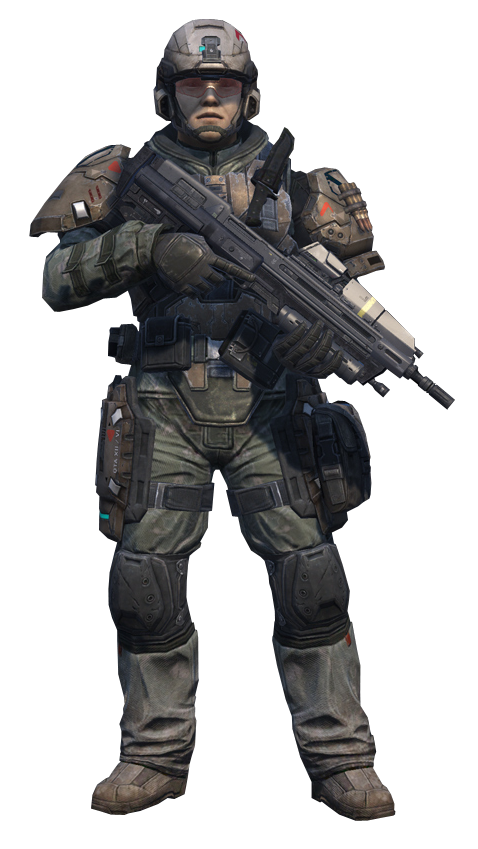 Fichier:Halo Reach - UNSC Army Infantryman (Standing).png