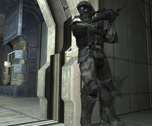 RelentlessRecusant ODST Stacked Against Wall