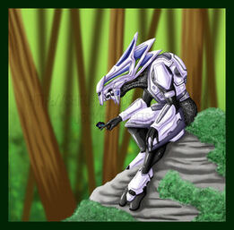 Halo Elite Councilor by Shiro Kuro