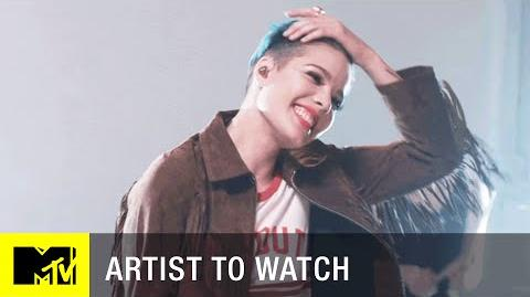 Halsey – 'Juicy' Cover (Exclusive Performance) Artist to Watch MTV
